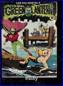 1943 Green Lantern # 9 Golden Age DC Comic