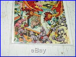 1944 TIMELY GOLDEN AGE MARVEL MYSTERY COMICS #58 TORCH COVER ONLY (Schomburg)