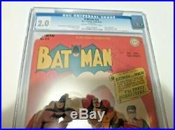 1945 Batman # 32 CGC Graded 2.0 Golden Age Comic