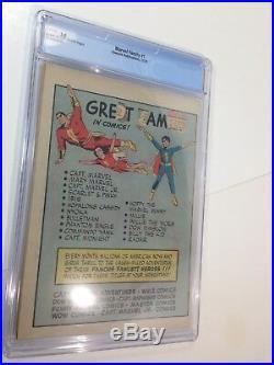 1945 Golden Age Marvel Family #1 Cgc 3.0 Key 1st Black Adam Early Shazam