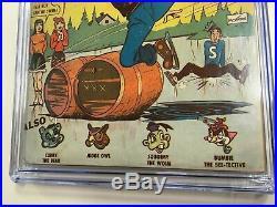 Archie Comics #1 1942 CGC 4.5 Mega Key Scarce Golden Age B-4 Restored