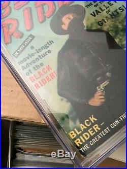 BLACK RIDER #8 CGC 4.0 Stan Lee Photo Cover Golden Age 1950