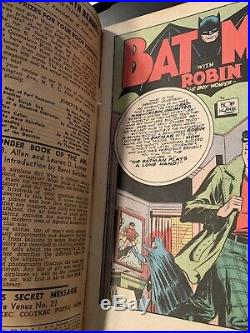 Batman #13 DC Golden Age 1942 Joker appearance NY Yankees Joe DiMaggio cameo