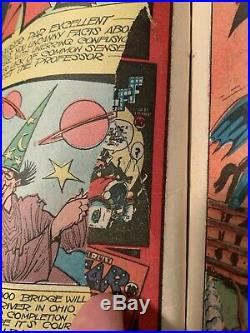 Batman #17 DC Golden Age 1943 WW2 classic cover Penguin appearance