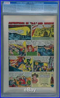 Batman #34 1946 Cgc 8.5 Wp Golden Age Alfred Story Sprang DC Comics