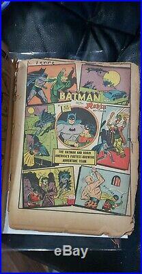 Batman 4 Golden Age Mega Key Rare DC Robin Detective Comics