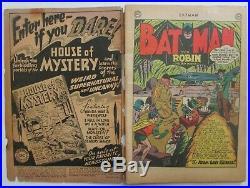 Batman #68 (1952). Golden Age. Two-Face