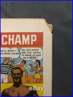 Black Cat Comics #1 Golden Age GGA 1946 Vg