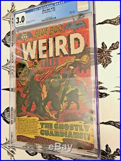 Blue Bolt Weird Tales #116 CGC 3.0 L. B. Cole Cover Pre-Code Horror Golden Age