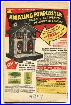 Captain America Comics #44 1945- Timely Golden-Age Alex Schomburg G