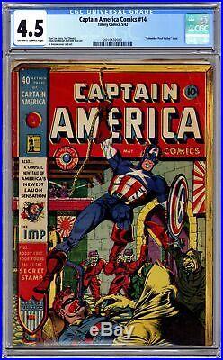 Captain America Comics (Golden Age) #14 1942 CGC 4.5 2016432003