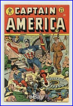 Captain America Comics (Golden Age) #51 1945 VG+ 4.5