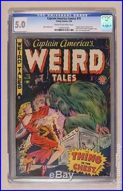 Captain America Comics (Golden Age) #75 1950 CGC 5.0 1335511005