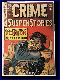 Crime SuspenStories #16 (PR 0.5) Golden Age Comic Book! E. C. Comics! CLASSIC