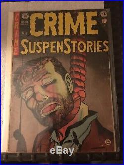 Crime SuspenStories #20 Dec. Jan 1954 Golden Age Between Good To Good Plus Cond
