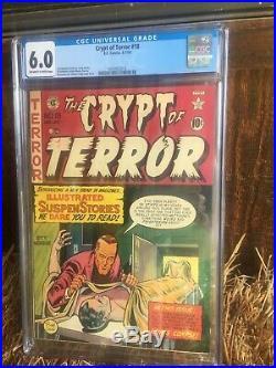Crypt of Terror #18 CGC 6.0 EC Golden Age 1950 J. Craig AL Feldstein W. Wood