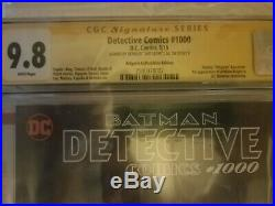 Detective Comics #1000 Artgerm 3 Book Variant Set 9.8 CGC SS virgin, golden age