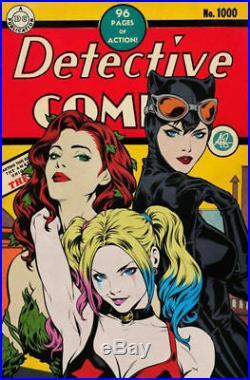 Detective Comics #1000 Stanley Artgerm Lau Golden Age Variant