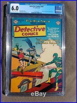 Detective Comics #181, Cgc 6.0 (mar 1952) Golden Age Batman, 1st App Human Magnet