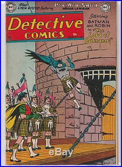 Detective Comics #198 1953 Rare Issue/Golden Age Batman/Original Condition NM-