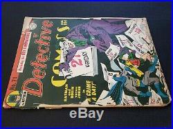 Detective Comics Batman 71 Golden Age Joker Classic Cover Not CGC/CBCS