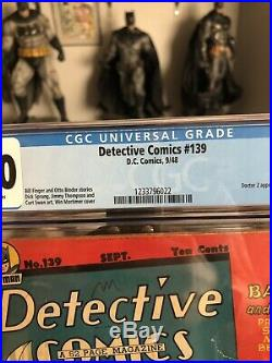 Detextive Comics #139 CGC 2.0 Golden Age Batman