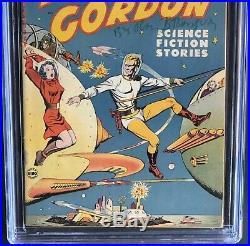 FLASH GORDON #1 (Harvey 1950) CGC 6.0 ONLY 35 in CENSUS! Golden Age Sci-Fi
