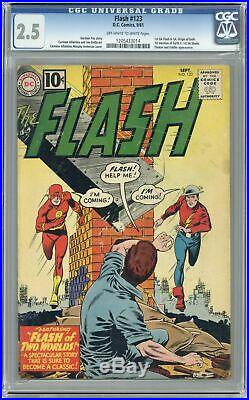 Flash #123 CGC 2.5 1961 1205433014 1st Silver Age app. Of Golden Age Flash