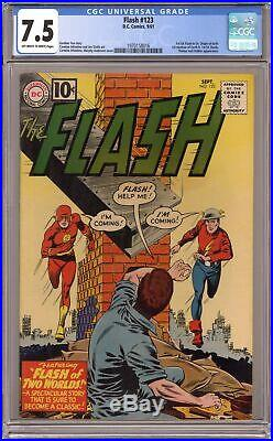 Flash #123 CGC 7.5 1961 1970158016 1st Silver Age app. Of Golden Age Flash