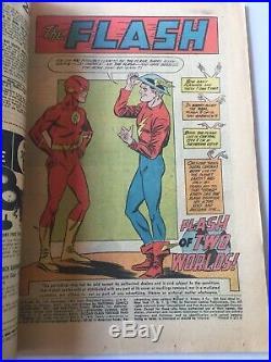 Flash #123 DC Comics Sept 1961 ReIntro Of Golden Age Flash