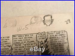 Graham Ingles Ghastly EC Comic Original Art Golden Age Vault of Horror
