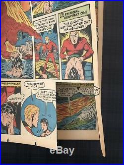 Human Torch #5 (#4) Golden Age Timely Classic WW2 Cover LOW PRICE RARE