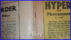 Hyper Mystery Comics #2 (1940) -Very rare Golden Age