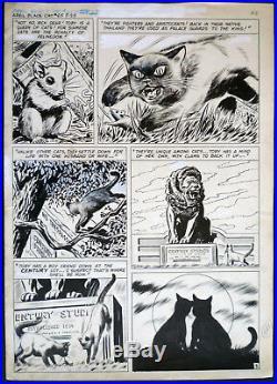 ++ Lee Elias Golden Age Art Siamese Cats Black Cat