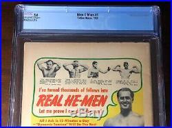 Man O'Mars #1 (1953) Classic Golden Age Sci-Fi Cover! Whitman! CGC 5.0
