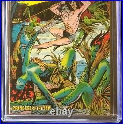 Nightmare #13 (St John 1954) CGC 6.5 Matt Baker Cover! Golden Age Comic