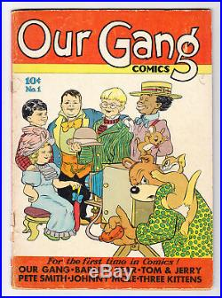 Our Gang #1 Scarce Golden Age 1st Tom & Jerry 1.5 1942