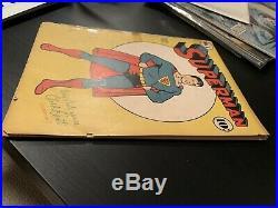 Superman #6 Golden Age Sep/Oct 1940 Classic cover 1st Superman splash page