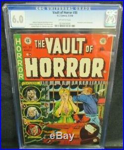 Vault of Horror #35 (1954) Golden Age EC Classic Craig Cover CGC 6.0 Y315