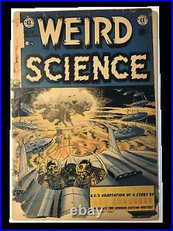 Weird Science #18, #21, #22 Lot of 3 Books Golden Age! EC Comics! RARE! NO BC