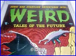 Weird Tales of the Future #4 CGC Universal Grade Comic Golden Age Aragon PreCode