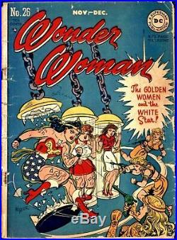 Wonder Woman #26 Golden Age DC 1.5