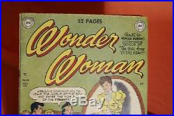 Wonder Woman #38 (Nov/Dec 1949, DC) Golden Age, Good Condition + Complete RARE