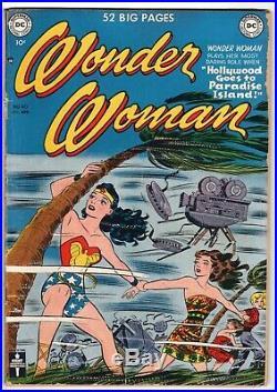 Wonder Woman #40 Golden Age Hollywood DC Comics 1950 Gd