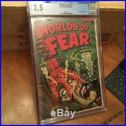 Worlds Of Fear #9. Pre Code Horror / Golden Age